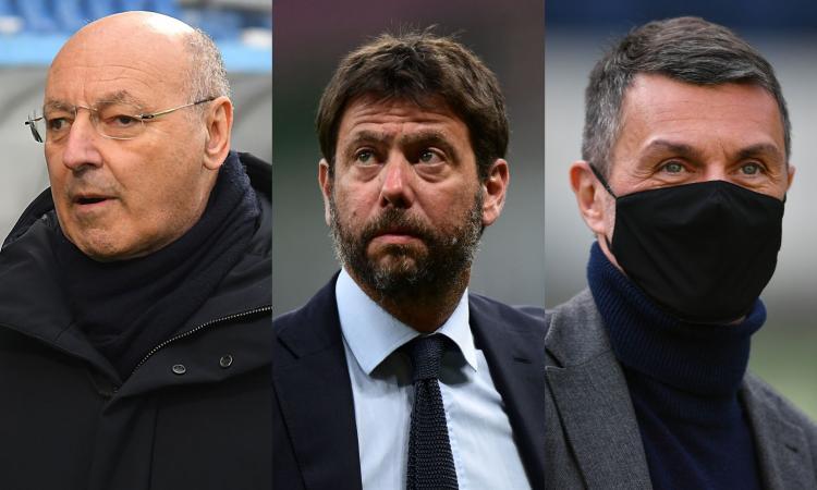 Dal campo al mercato fino alla politica: Inter, Juve e Milan, storia di vecchie rivalità e nuove alleanze