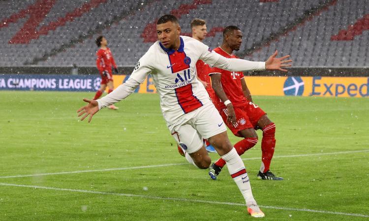 PSG, altro record per Mbappé in Champions