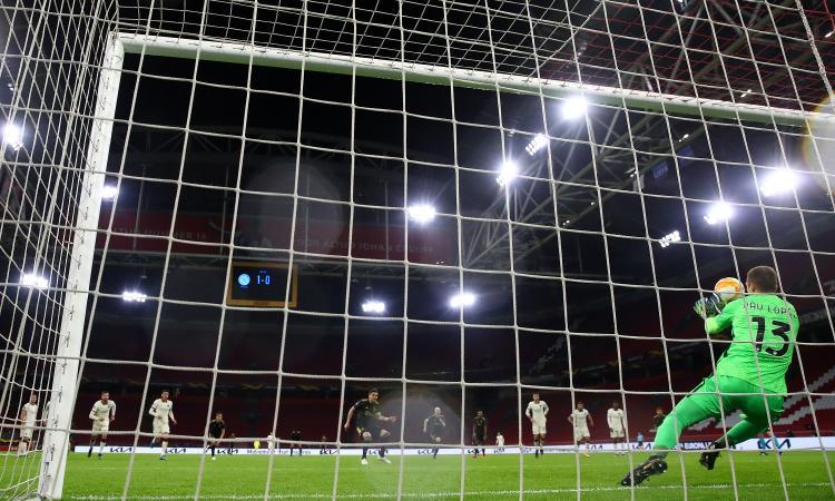 Roma, Pau Lopez decisivo sull'orlo del baratro. Ma l'Ajax non è più quello che fece fuori Real e Juve