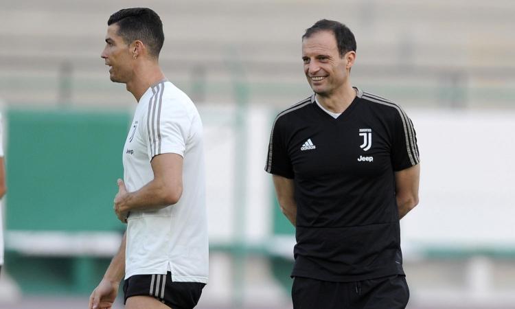 Juve, Allegri e quel consiglio ad Agnelli: 'Liberati di Ronaldo, sta bloccando la crescita di squadra e società'