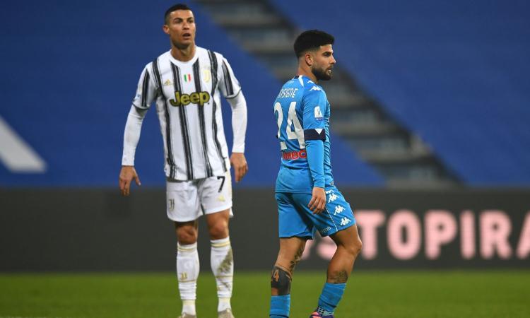 Juve-Napoli, allarme Covid: Agnelli e De Laurentiis, non era meglio giocarla il 17 marzo? Se salta di nuovo è il caos