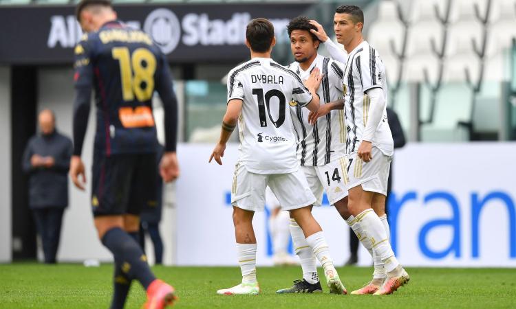 Ronaldo sbaglia tutto, ma una 'doppia' Juve batte il Genoa. Scamacca fa paura, perché Ballardini l'ha tolto?