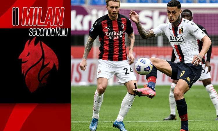 Pioli, che sofferenza contro il Genoa! Scamacca segna già per il Milan, ma per il futuro non basta uno come lui