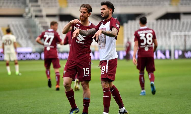 Torino, scatto salvezza: 3-1 in rimonta alla Roma e torna a +5 sul Cagliari
