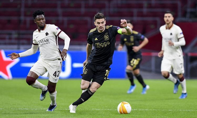 Ajax-Roma, rivivi la MOVIOLA: Ibanez entra su Tadic, è rigore