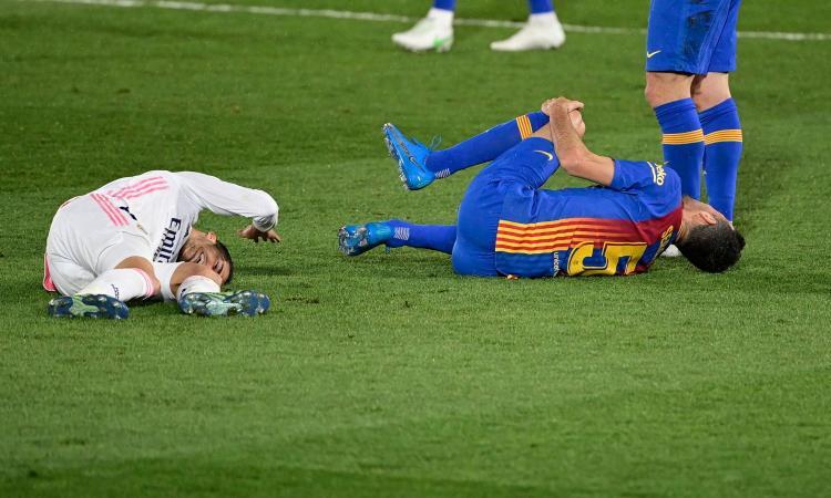 Real Madrid, UFFICIALE: problema al ginocchio per Vazquez, stagione finita