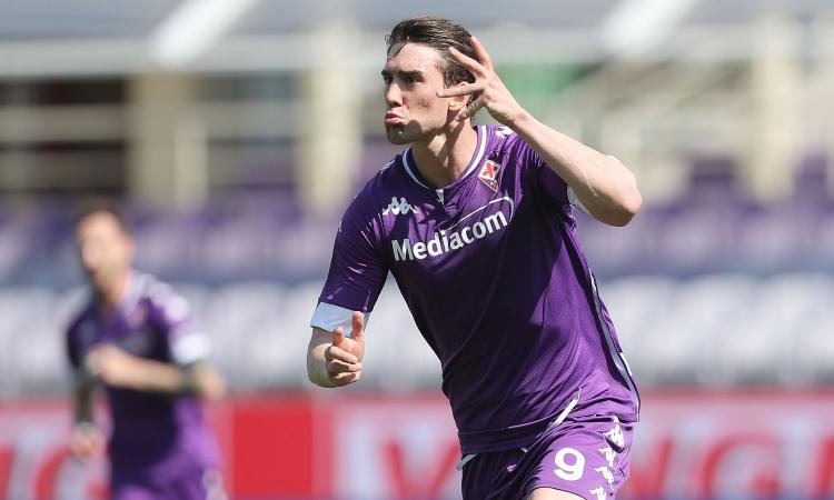 Fiorentina, idea clausola per il rinnovo di Vlahovic