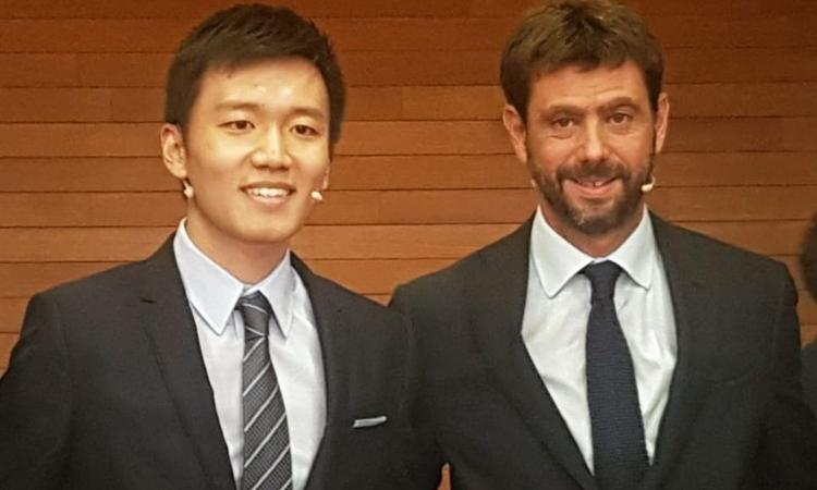 Juve e Agnelli, i complimenti all'Inter e a Zhang fanno infuriare i tifosi: accadrà lo stesso a parti invertite?