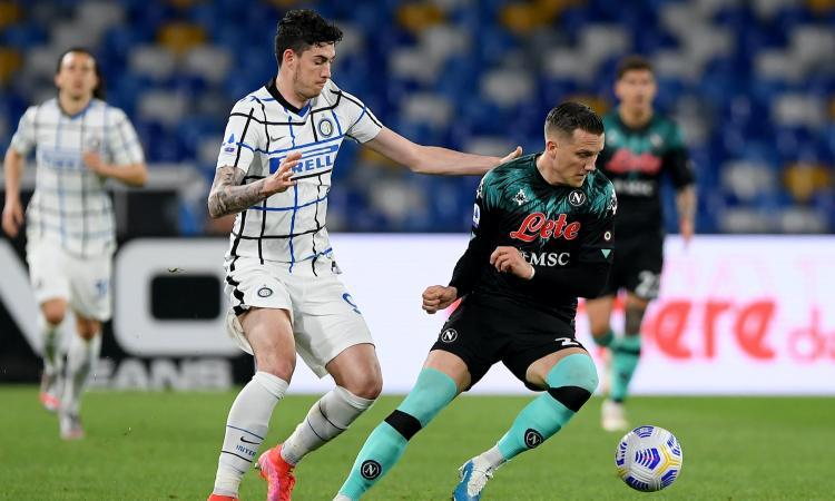 Napoli-Inter, rivivi la MOVIOLA: de Vrij su Zielinski, Doveri non concede il rigore