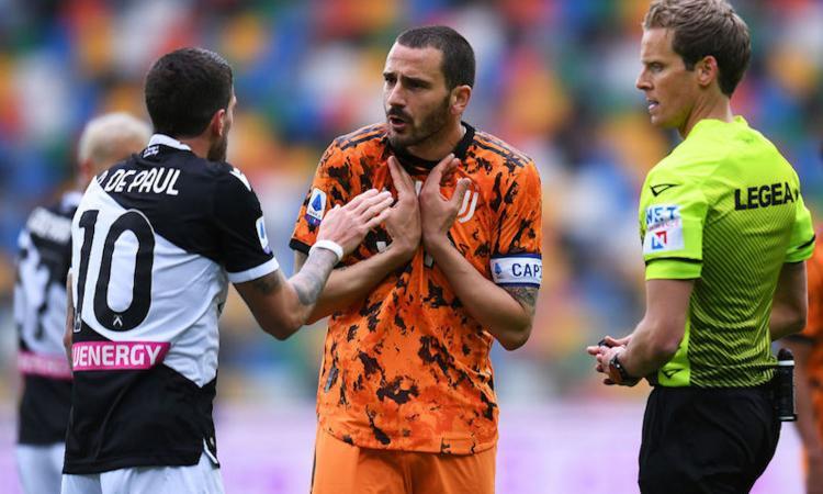 Bonucci: 'Scudetto Inter, ci abbiamo messo del nostro. Ma la Juve si rialzerà, come sempre'