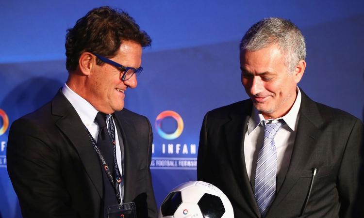 Capello su Mourinho: 'Roma piazza difficile, si esalterà. Ma per vincere non basta, servono i giocatori'
