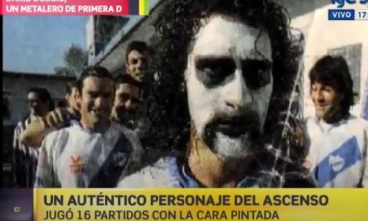 Dario Dubois, la tragica storia del calciatore clown