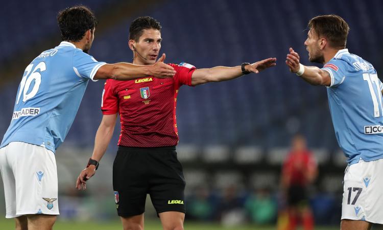 Chiesa a CM: 'Brunetta da rosso in Lazio-Parma, rischia anche Santon. Netto il rigore per il Milan'