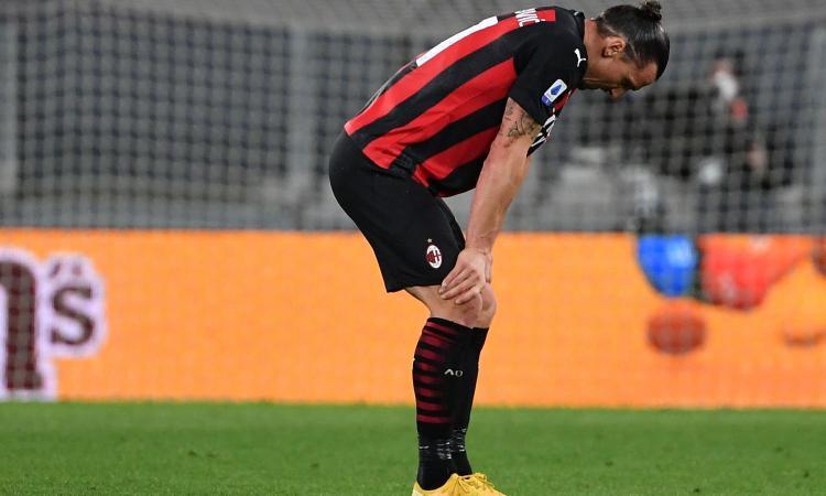 Milan, ansia per il consulto al ginocchio di Ibra: terapie o intervento? Vuole salvare l'Europeo, le clausole nel contratto...