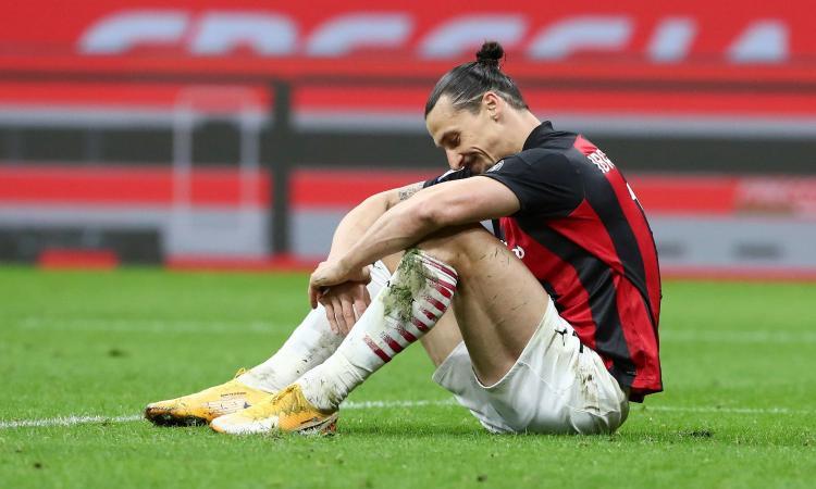 Milan, sei settimane di stop per Ibrahimovic. UFFICIALE: salta l'Europeo