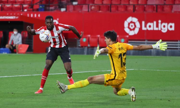 Liga: Siviglia sconfitto in casa dall'Athletic Bilbao, la vetta si allontana