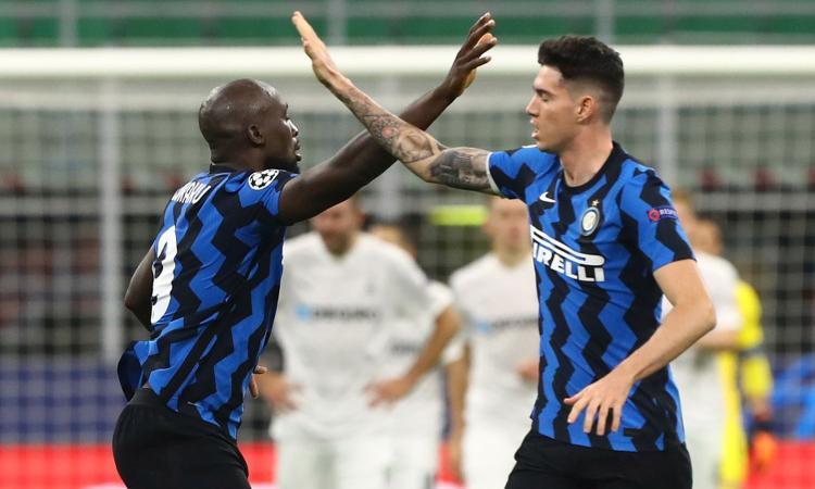 Inter, Lukaku scherza: 'Deluso dal Var Conte'. E Bastoni cita il tecnico: 'Sei sempre tu Stellini, sempre tu' FOTO