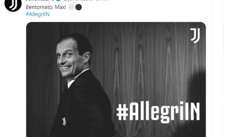 Juve, UFFICIALE: dopo due anni torna Allegri