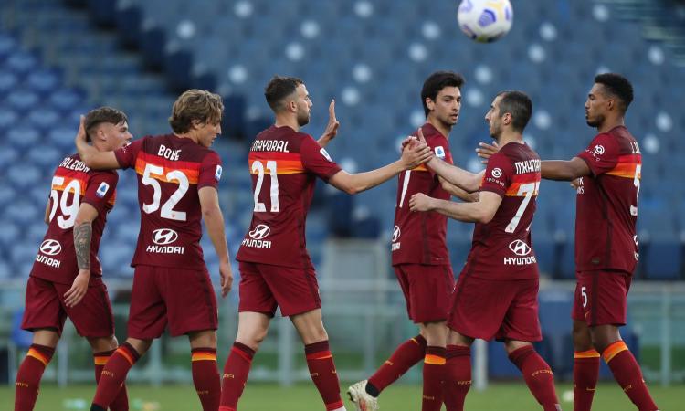 Roma, col Crotone un allenamento: dalla linea a 4 a Darboe, Fonseca lavora già per Mourinho