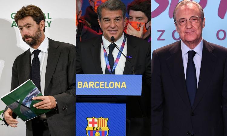 La Superlega e il doppio binario con l'Uefa: Juve, Real e Barça minacciano sanzioni milionarie