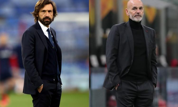 A Pirlo mancano idee, gioco e convinzione, Pioli ha uomini veri: ecco perché il Milan è favorito sulla Juve