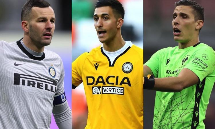 Handanovic, un errore anche contro la Juve: da Musso a Silvestri, le idee dell'Inter per il futuro