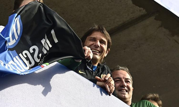 Inter, Conte: 'Dedico lo scudetto a me stesso, ho dovuto tirare fuori tutto quello che avevo dentro'