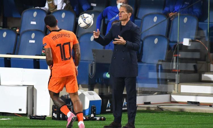 De Boer: 'La mia era un'altra Inter, in difficoltà. Depay? Lo vedrei bene alla Juve o in nerazzurro...'