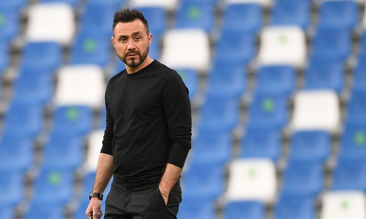 De Zerbi: 'Sono manciniano sfegatato. Locatelli pronto per la Juve. Serie A, Allegri e Inzaghi in pole'