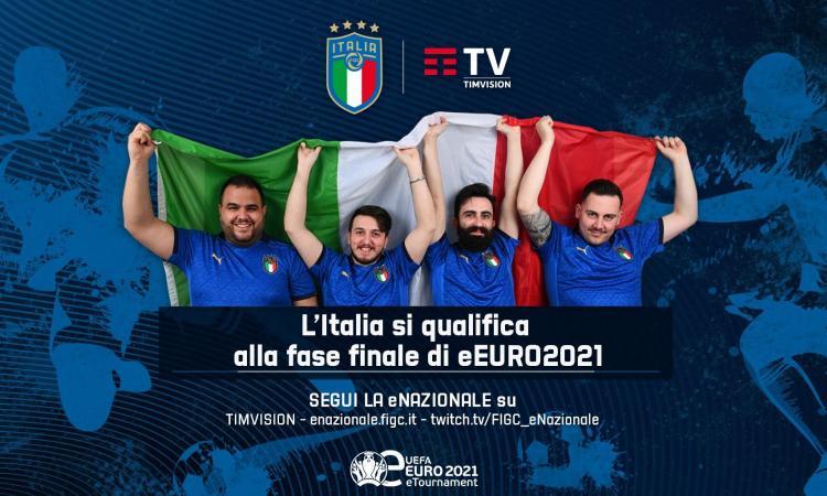 Italia sì: la eNazionale PES si qualifica alla fase finale di eEuro 2021