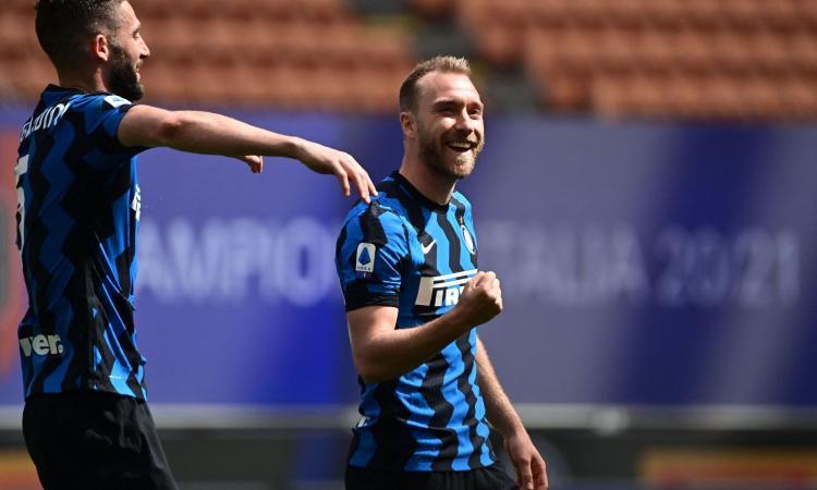 Eriksen: 'All'Inter come sulle montagne russe'. Poi rilancia: 'Ho fame di vincere ancora, con il club e in nazionale'