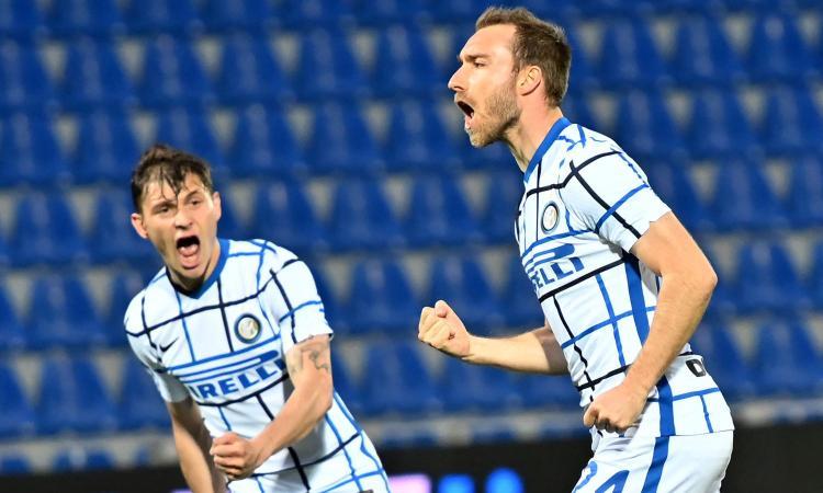 Crotone-Inter, le pagelle di CM: Eriksen delizioso, Skriniar terrorizza gli avversari. Messias è da big