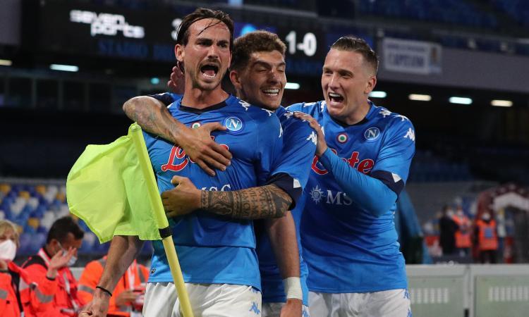 Uragano Napoli, 5 gol all'Udinese e secondo posto con vista Champions: Gattuso pensa già a Firenze