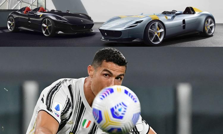 Juve: Cristiano Ronaldo non si allena, va a Maranello con Elkann e compra una Ferrari