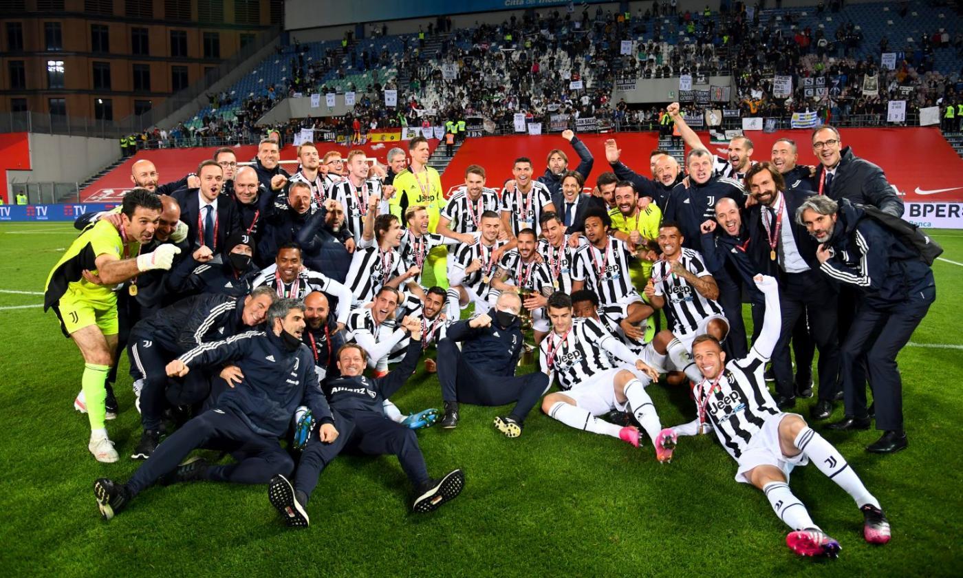 L'Atalanta gioca, la Juve segna e si prende la Coppa Italia. La fortuna  aiuta Pirlo, ma senza la Champions sarà una stagione da buttare |  Primapagina | Calciomercato.com