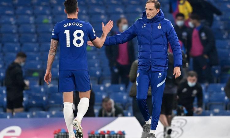 Chelsea, un club fa sul serio per Giroud