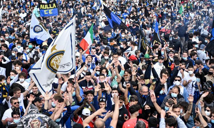 Tifosi Inter in piazza, il Cts: 'Immagini che non possiamo permetterci, serve rispetto per i nostri 121mila morti'