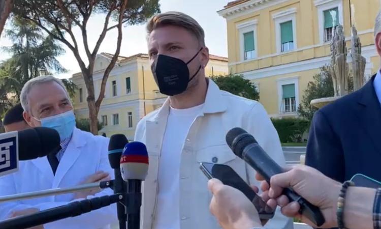 Lazio, Immobile dopo il vaccino: 'Grazie a tutti per l'opportunità. Vogliamo essere d'esempio'