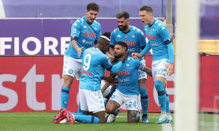 Napoli, risposta alla Juve: Champions a un passo, che fatica! Insigne e Ribery show, Var protagonista