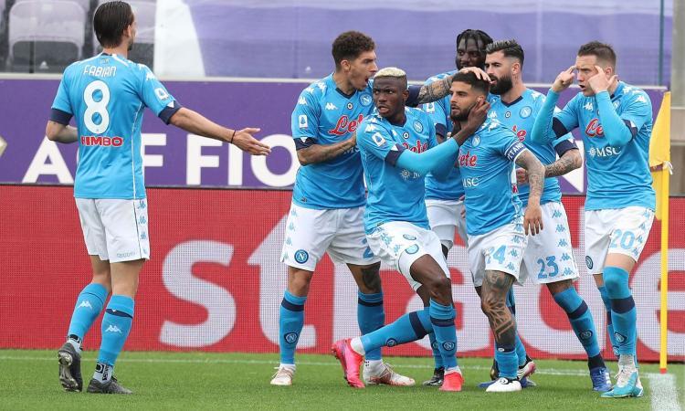 Napoli, colpo Champions: Fiorentina battuta 2-0, decidono Insigne e l'autogol di Venuti