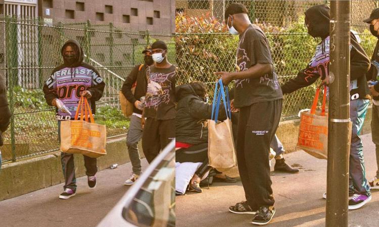 Momenti Di Gioia, Kean 'cuore d'oro': dalla Champions col PSG al cibo consegnato a senzatetto e migranti