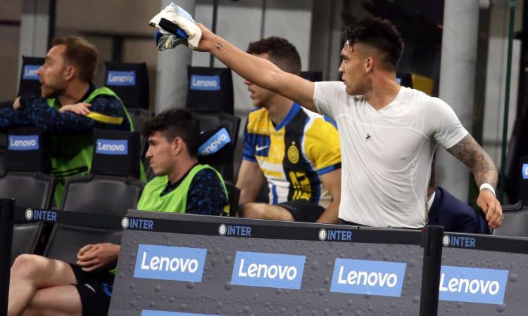 Roma ko, ma l'Inter non è mai tranquilla: parole grosse tra Conte e Lautaro, che ribellione!