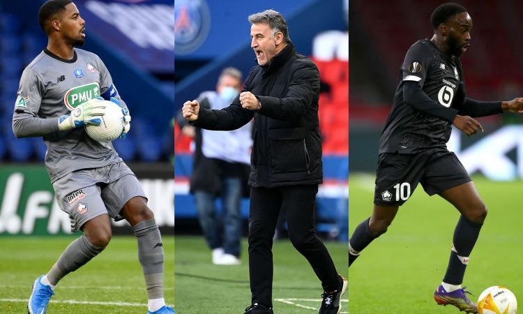 Il Lille è a due passi dal sogno: Maignan, Ikoné e il mago Galtier nel mirino del Milan