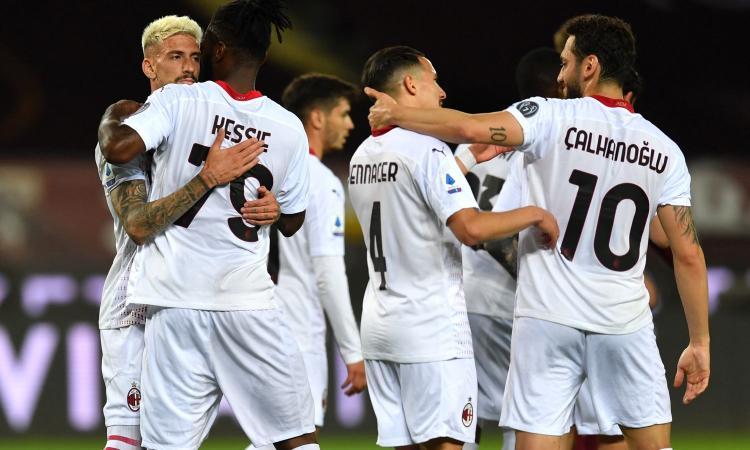 Troppo facile e troppo Milan contro un Torino vergognoso. Rebic fa meglio di Ibra e la Champions è più vicina