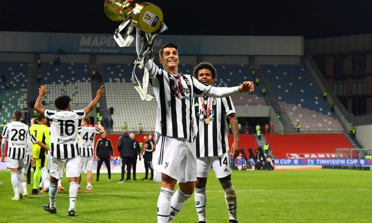 Juve, UFFICIALE: rinnovato il prestito di Morata. 'Ha mantenuto le promesse'