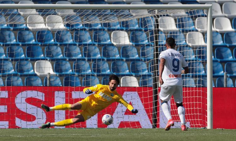 Sassuolo-Atalanta spot contro la Superlega: Muriel tradisce Gasperini