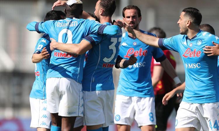 Napoli secondo, il 4-1 è un messaggio alle rivali Champions. Altro che calo, Gattuso si riscatta ed è in piena corsa