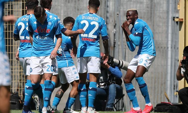 Con Osimhen show il Napoli domina e piazza il primo scatto Champions: 4-1  con lo Spezia   Serie A   Calciomercato.com