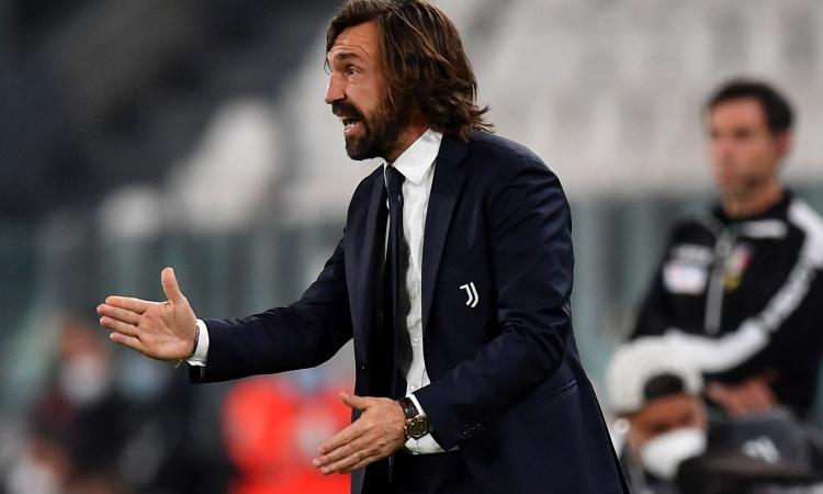 Juve, Pirlo: 'Testa all'Atalanta, il resto da giovedì. Bonucci è indisponibile, io due finali come Gasperini. Su Dybala...'