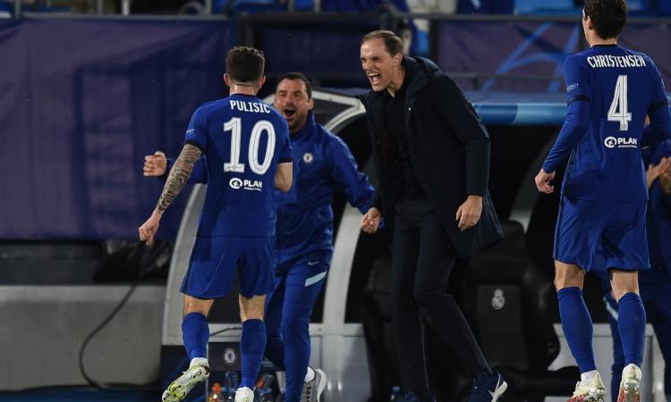 CM Scommesse: Chelsea-Real Madrid va ai supplementari